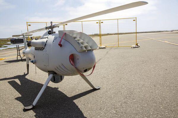 Ensayo de drones en una base naval de EEUU - Sputnik Mundo