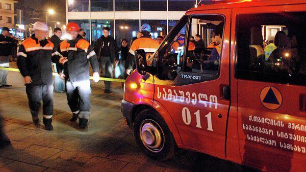 Пожар в тбилисском метро - Sputnik Mundo