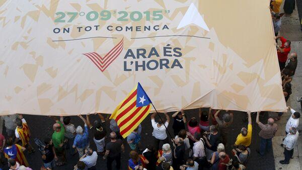 Bandera independista de Cataluña - Sputnik Mundo