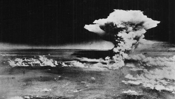 Nube de hongo sobre Hiroshima, el 9 de agosto de 1945 - Sputnik Mundo