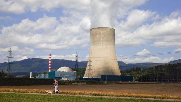Planta nuclear Goesgen en la ciudad de Daeniken, Suiza - Sputnik Mundo