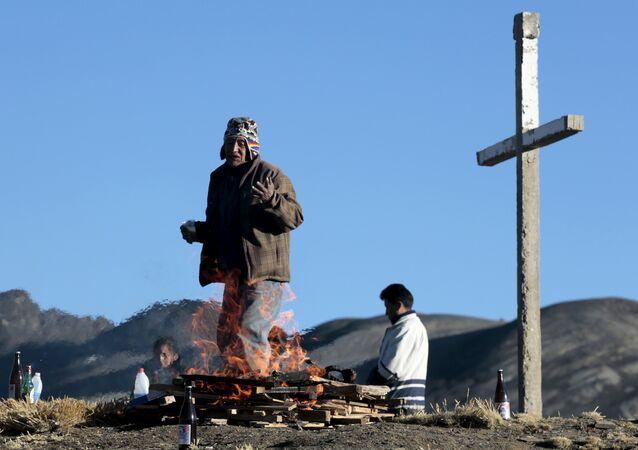 Pueblos originarios de América Latina iniciaron su homenaje a la Pachamama