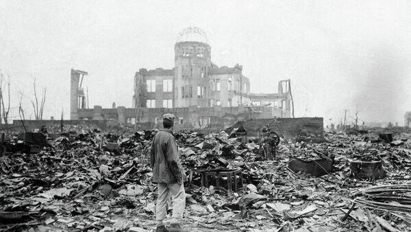 Hiroshima después de la explosión atómica (archivo del septiembre de 1945) - Sputnik Mundo