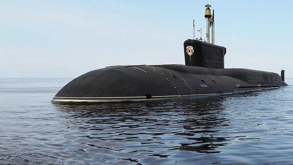 Submarino nuclear Vladímir Monomaj - Sputnik Mundo