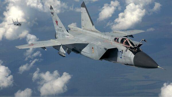 Caza interceptor MiG-31 - Sputnik Mundo