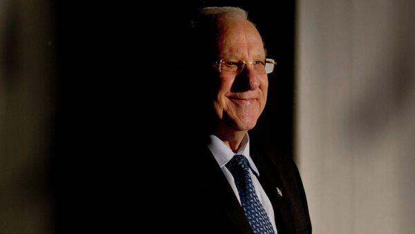 Reuven Rivlin, presidente de Israel - Sputnik Mundo