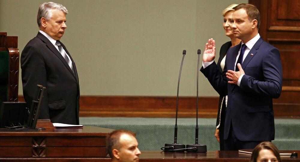 Inauguración del Presidente de la República de Polonia, Andrzej Duda