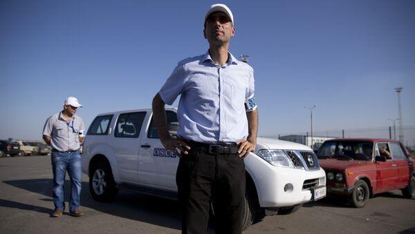 Paul Picard, jefe de la misión de la OSCE - Sputnik Mundo