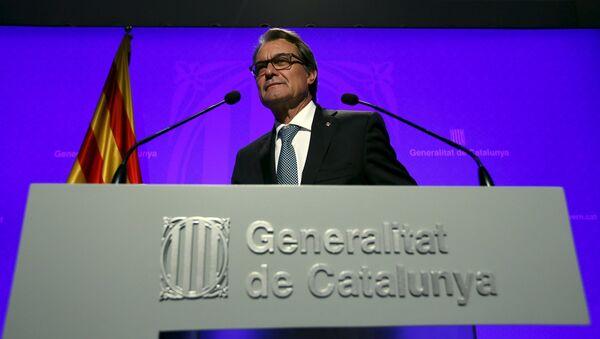 Artur Mas, expresidente de Cataluña - Sputnik Mundo