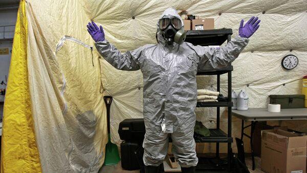 EEUU y Rusia acuerdan proyecto para juzgar uso de armas químicas en Siria - Sputnik Mundo