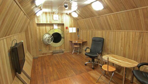 Cámara de simulación de vuelos MARS 500 - Sputnik Mundo