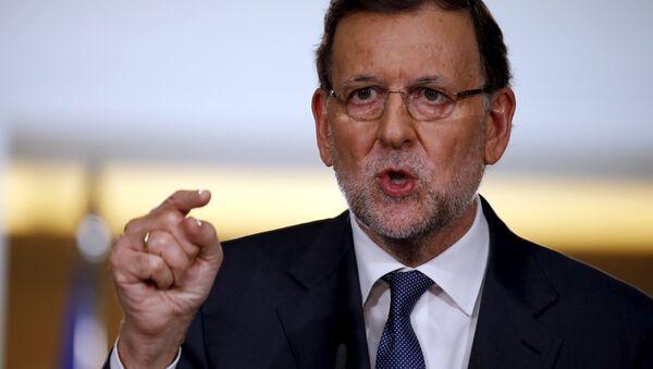 Mariano Rajoy, primer ministro de España - Sputnik Mundo