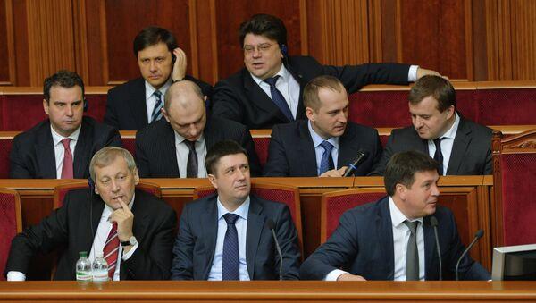 Sesión de la Rada Suprema (Parlamento) de Ucrania - Sputnik Mundo