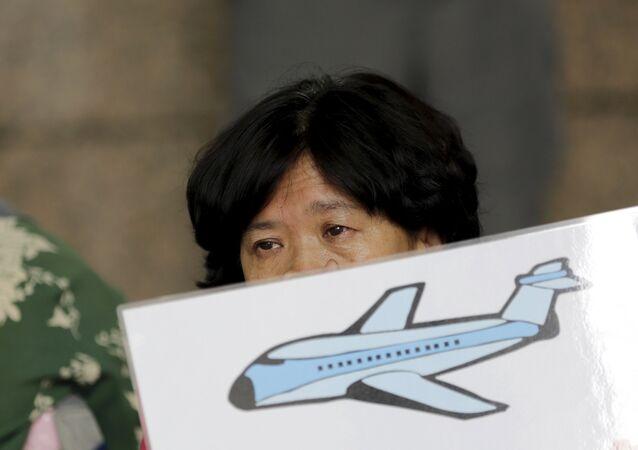 Familiares de los pasajeros del vuelo MH370