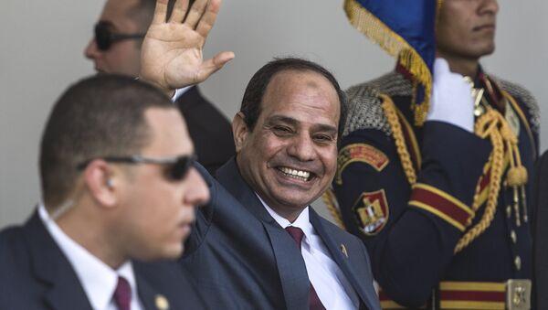 Abdel Fattah al-Sisi, presidente egipcio - Sputnik Mundo