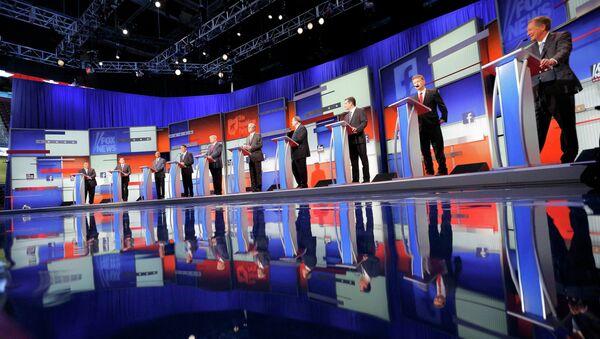 Candidatos republicanos a la presidencia de EEUU en 2016 - Sputnik Mundo