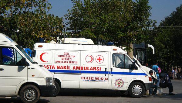 Ambulancia, Turquía - Sputnik Mundo