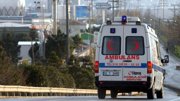 Una ambulancia turca (archivo) - Sputnik Mundo