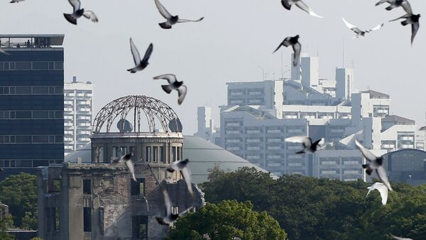Cúpula Atómica en el Parque Memorial de Paz de Hiroshima, Japón - Sputnik Mundo