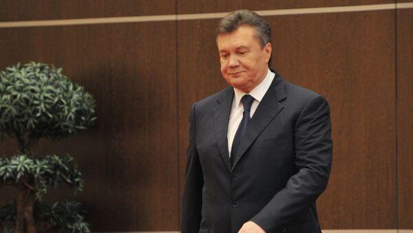 Víctor Yanukóvich, expresidente ucraniano - Sputnik Mundo