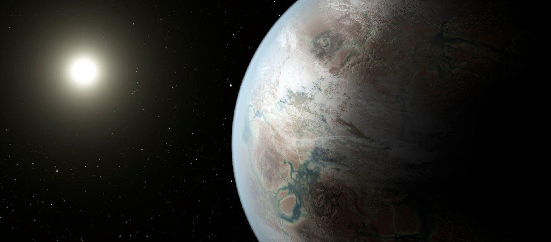 Un exoplaneta (imagen referencial) - Sputnik Mundo, 1920, 17.12.2020