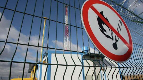 Gasoducto y la estación de distribución de gas en la región de Kaliningrad, Rusia - Sputnik Mundo
