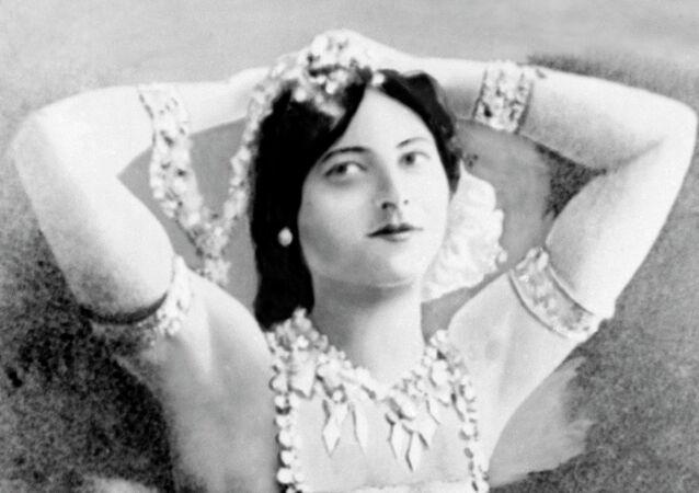 An undated photo of Mata Hari
