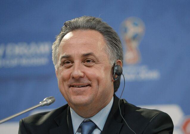 Vitali Mutkó, ministro de Deportes de Rusia