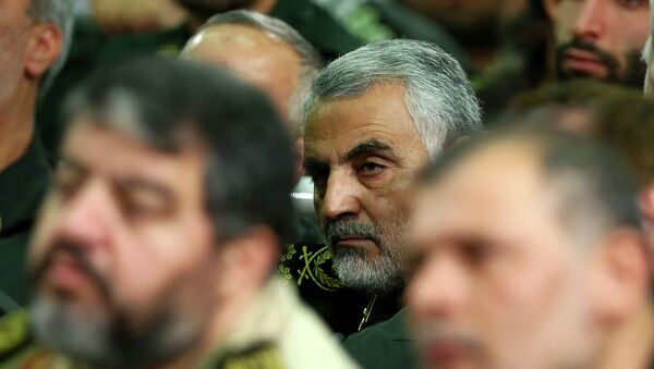 Gen. Ghassem Soleimani, a powerful Iranian general, has emerged as the chief tactician in Iraq's fight against Sunni militants, working on the front lines alongside 120 advisers from his country's Revolutionary Guard to direct Shiite militiamen and government forces in the smallest details of battle, militia commanders and government officials say. - Sputnik Mundo