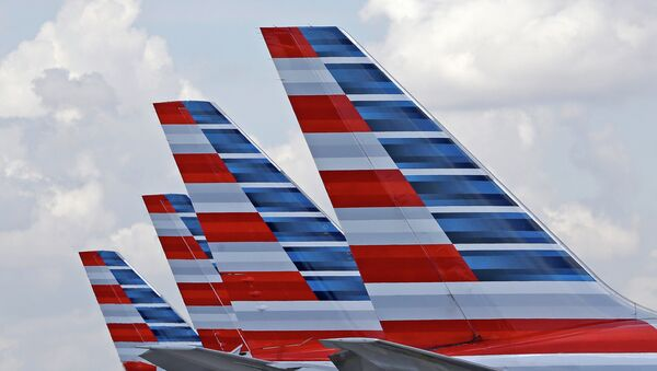 Aviones de American Airlines (archivo) - Sputnik Mundo