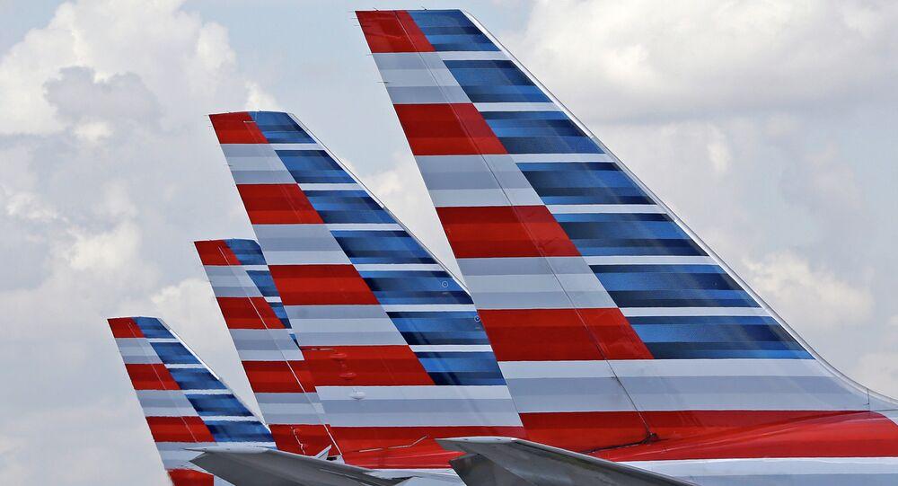 Aviones de American Airlines (archivo)