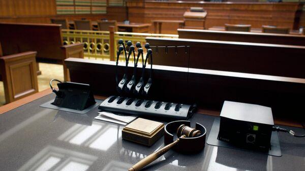 Un tribunal (imagen referencial) - Sputnik Mundo