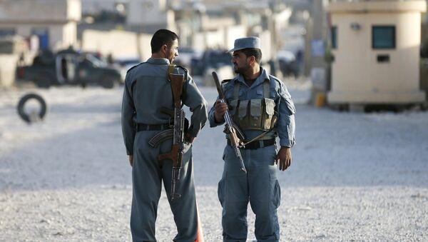 Los policías afganos - Sputnik Mundo