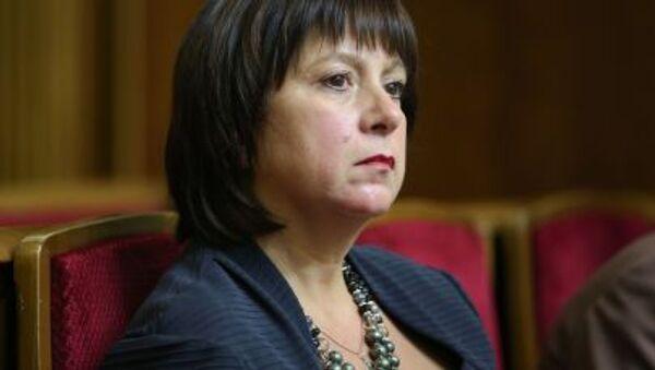 Natalia Yaresko, ministra de Finanzas de Ucrania - Sputnik Mundo