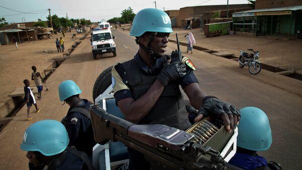 Soldados de la Minusma (Misión Multidimensional Integrada de Estabilización de las Naciones Unidas) en Malí - Sputnik Mundo