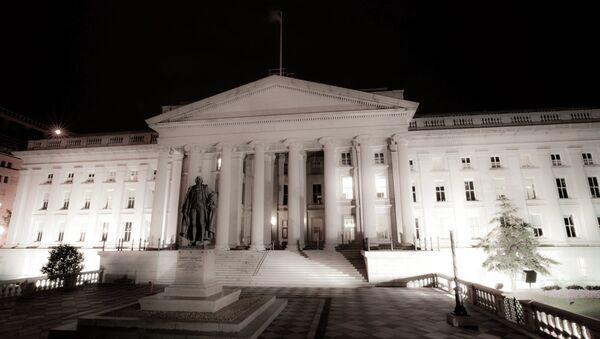 Departamento del Tesoro de los Estados Unidos - Sputnik Mundo