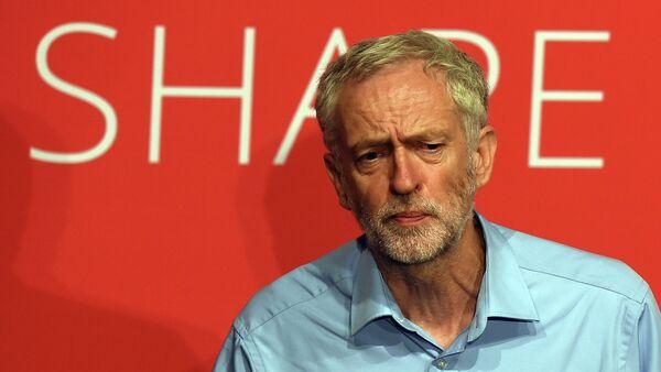 Jeremy Corbyn, candidato al liderazgo del Partido Laborista - Sputnik Mundo