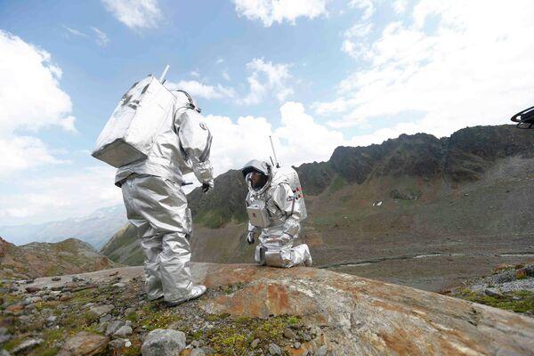 La misión a Marte en Austria - Sputnik Mundo