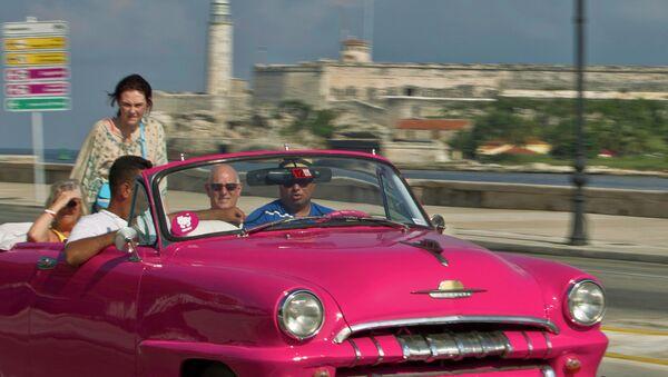 Turistas en la Habana - Sputnik Mundo