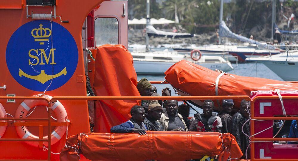 Salvamento marítimo de España