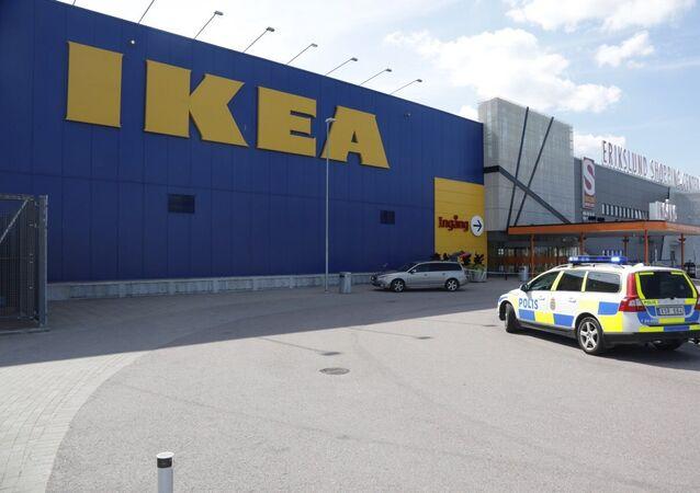 Tienda de IKEA en Vasteras, Suecia, el 10 de agosto, 2015
