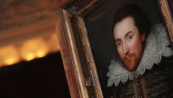 Un retrato de William Shakespeare - Sputnik Mundo