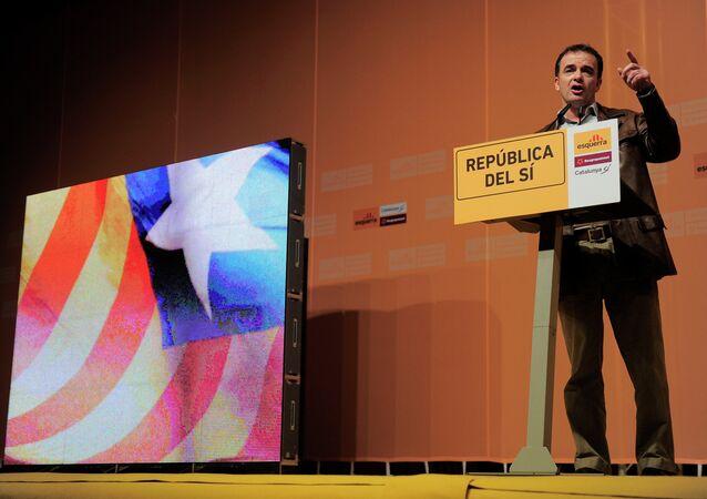 Alfred Bosch, líder de los nacionalistas de Esquerra Republicana de Catalunya