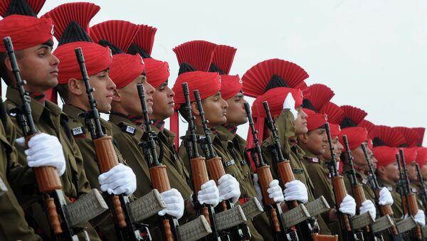 Oficiales del Ejército de la India (archivo) - Sputnik Mundo