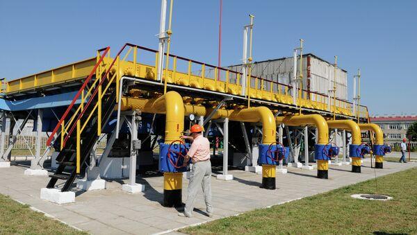 Estación de compresores en la región de Járkov, Ucrania - Sputnik Mundo