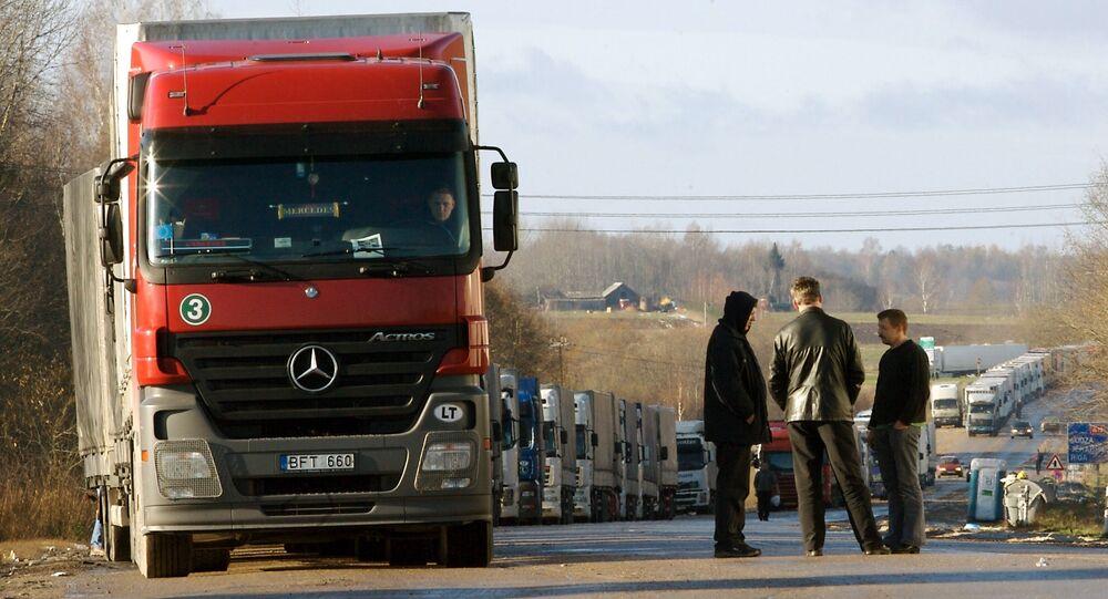 Frontera entre Letonia y Rusia (archivo)