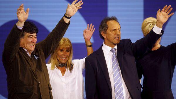 Daniel Scioli, precandidato del partido Frente para la Victoria - Sputnik Mundo