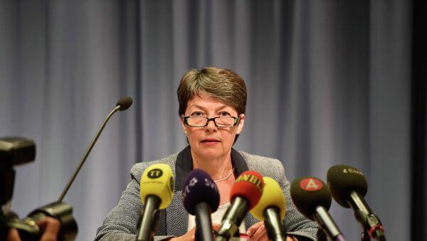Marianne Ny, fiscal superior de Suecia - Sputnik Mundo