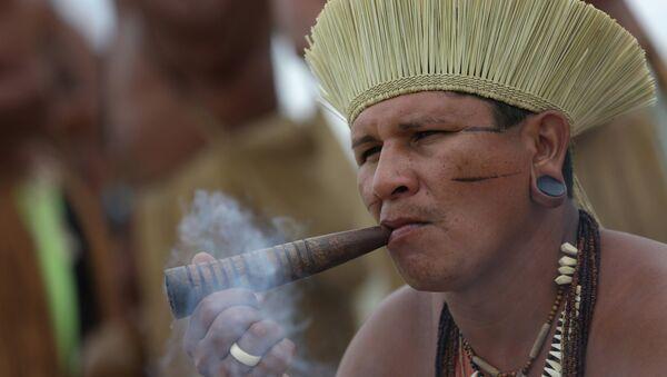 Indígena brasileño (archivo) - Sputnik Mundo