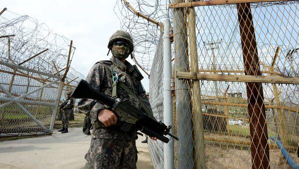 Soldado surcoreano (Archivo) - Sputnik Mundo
